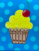 The image for Tasty Cupcake! Choose your colors!