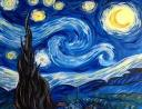 The image for Van Gogh's Starry Night! An all time favorite!