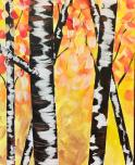 The image for $25 Monday's! Birch Trees