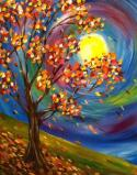 The image for Fall Swirling Tree!