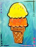 The image for $20 Kids build your own Ice cream 11X14