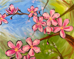 The image for Cheerful Cherry Blossom!