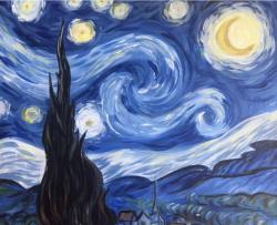 The image for Back by popular demand... It's Starry Night!