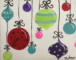 The image for SATURDAY SALE $30 - Christmas Balls