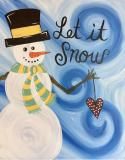 The image for Let it Snow Holiday Keepsake! Decorate for the Holidays!