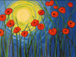 The image for Van Goghs Poppies