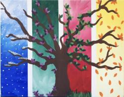 The image for The Four Seasons! Spring, summer, winter and fall!