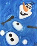 The image for $20 Kid's Olaf 11X14