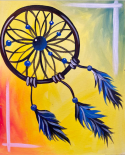 The image for Tie-Dye Dreamcatcher!