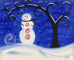 The image for Holiday Snowman