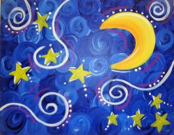 The image for Kid's Starry Night!
