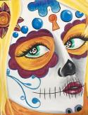 The image for Awesome Sugar Skull - Get ready for October!