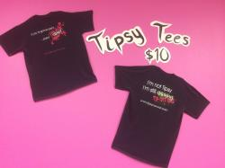 The image for Buy a Tipsy Canvas T-shirt