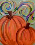 The image for Swirly Pumpkins! Great Keepsake!