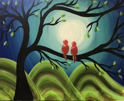 The image for $25 Monday Madness- Love Birds