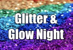 The image for Glitter and Glow! Add Bling & Glow In The Dark Paint - 7:00pm Class!